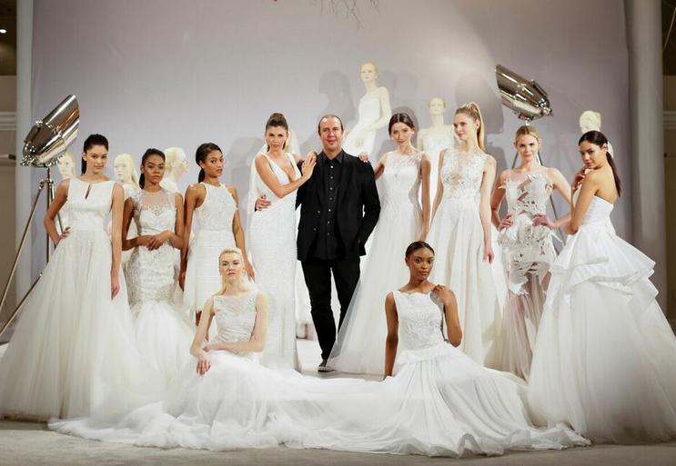 Tony Ward's 2016 Bridal Collection Featured at NY Bridal Week 2015