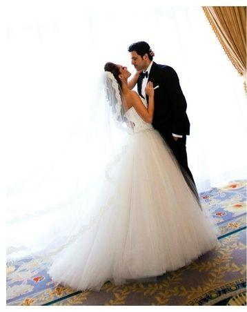 Bridal Fashion Designers Share Their Wedding Dress Pictures