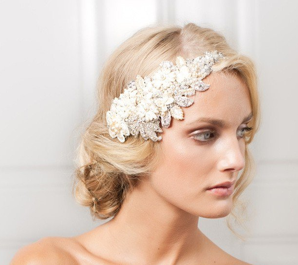 4 Beautiful Hairpieces for a Magical Bridal Look