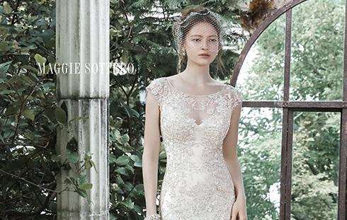 The Bateau Becoming Brides' Favorite Neckline in 2015