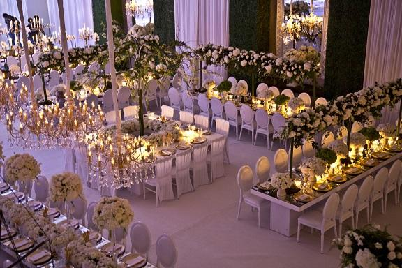 "Indoor Wedding Themes: Inside The ""Indoor Garden"" Wedding Of: Yousef Shamoun And"