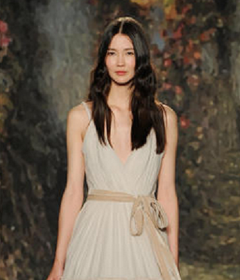 Stone Washed Shades Are Taking Over Bridal Gowns in 2015