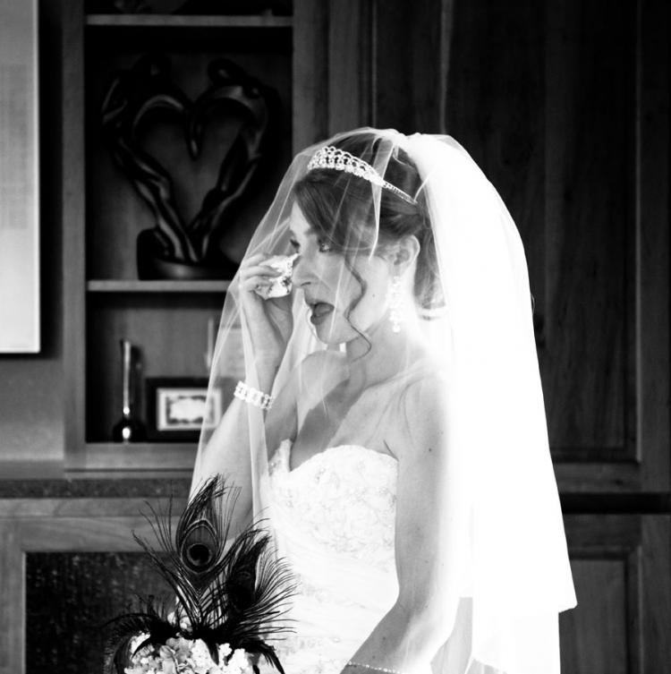 How Not to Cry On Your Wedding Day