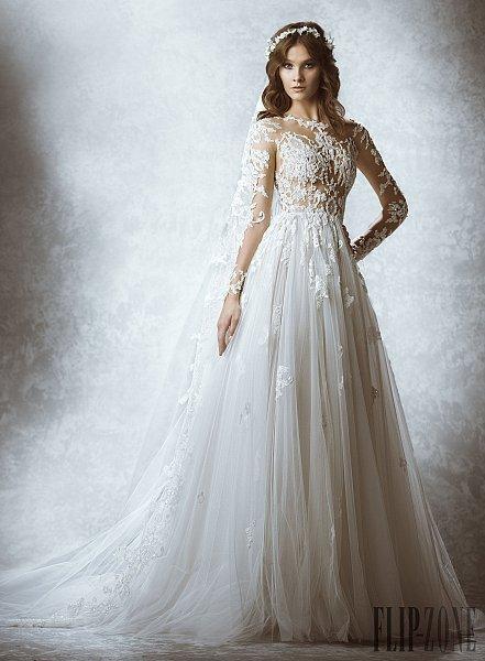 زهير مراد يطلق مجموعة فساتين الزفاف لخريف وشتاء 2016/2015
