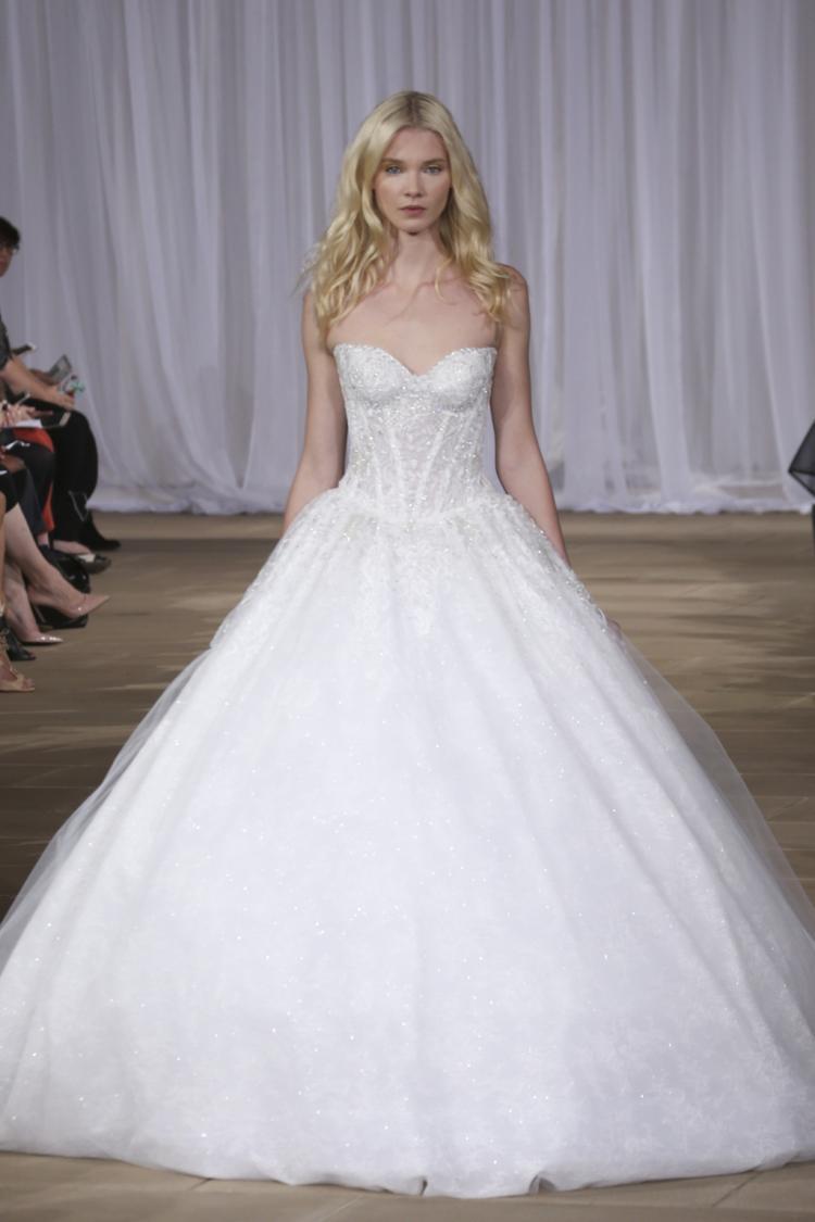 Ines Di Santo's Fall 2016 Bridal Collection at New York Bridal Week