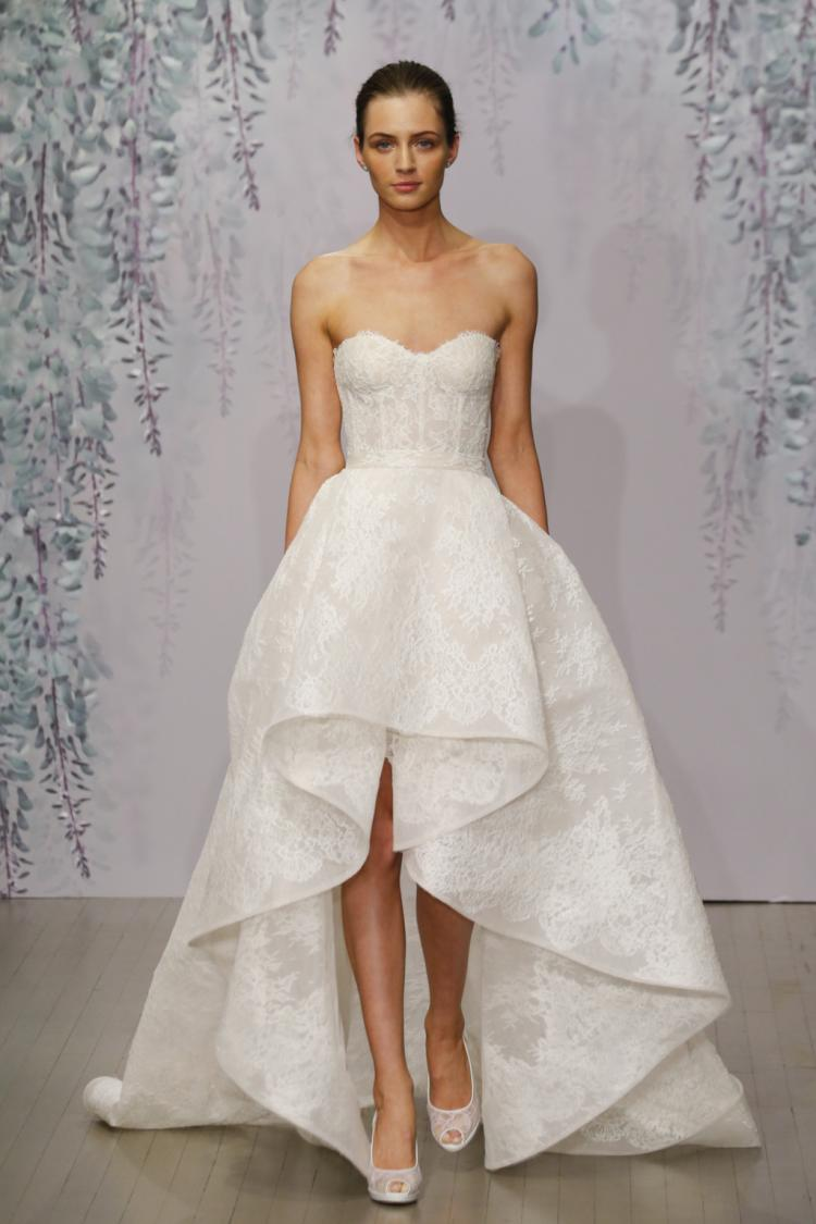 Monique Lhuillier's Fall 2016 Bridal Collection at New York Bridal Week