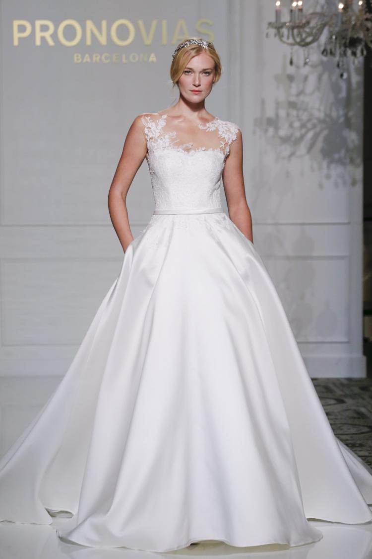 Pronovias' Fall Bridal Collection at New York Bridal Week