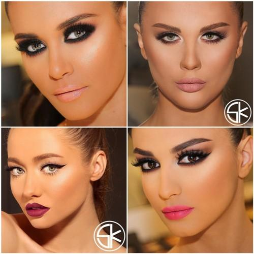 Beautiful Bridal Makeup By Makeup Artist Samer Khouzami