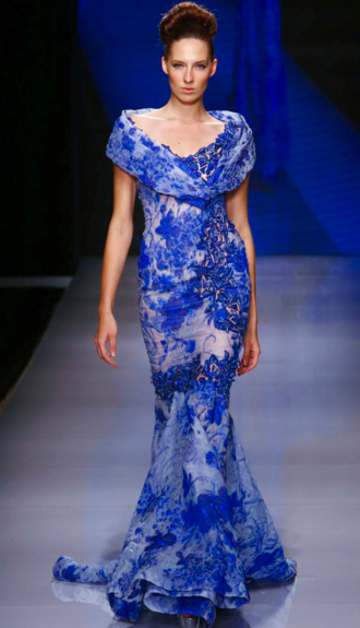 Tony Ward Launches Latest Collection for Spring/Summer 2016 at Arab Fashion Week