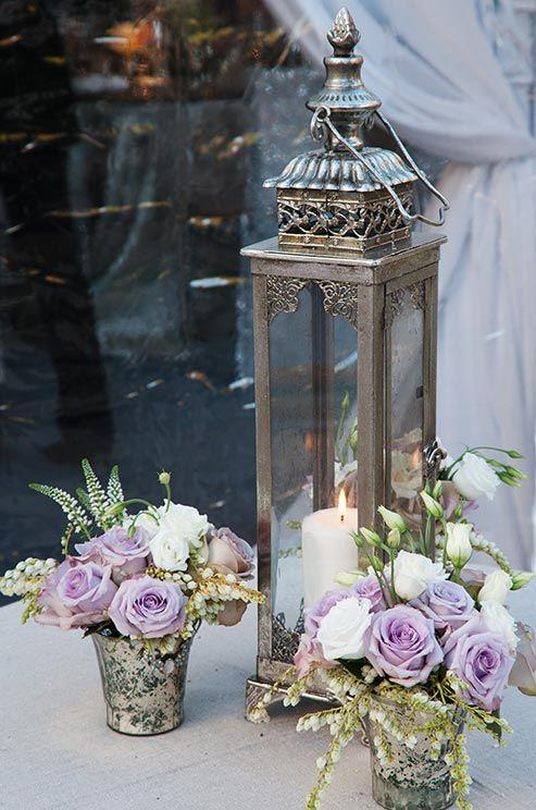 Your Wedding in Colors: Lavender and Grey