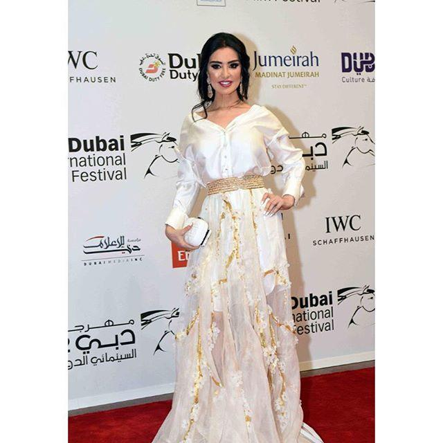 Celebrities in White at Dubai International Film Festival