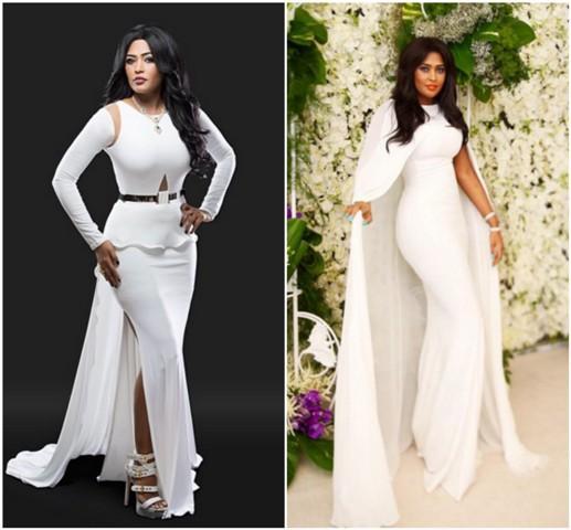 White Dresses Inspired By Saudi Singer Waed