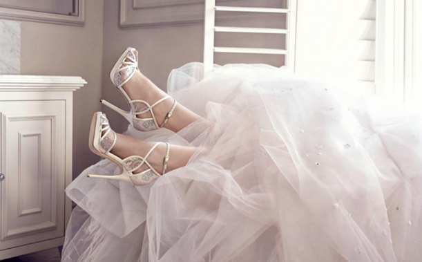 The Elegant Jimmy Choo's 2016 Bridal Shoe Collection