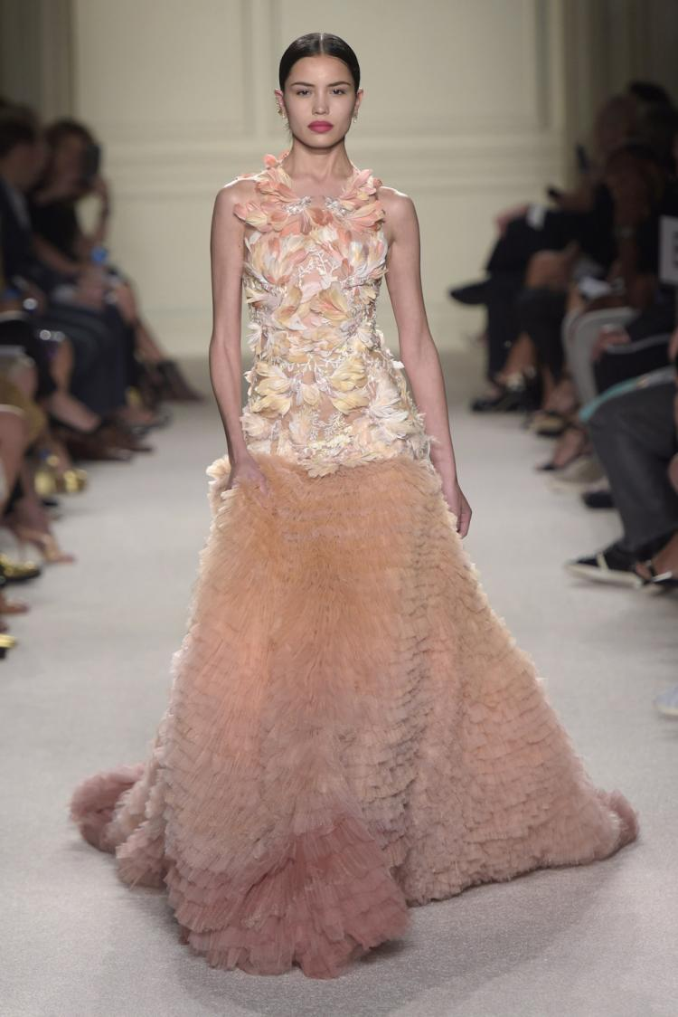 Marchesa Ready To Wear Spring 2016 at New York Fashion Week