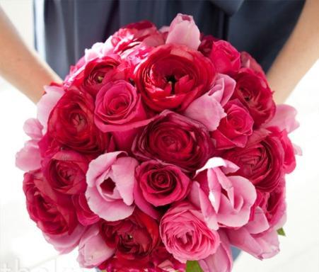 Valentine's Day Inspired Bridal Bouquet