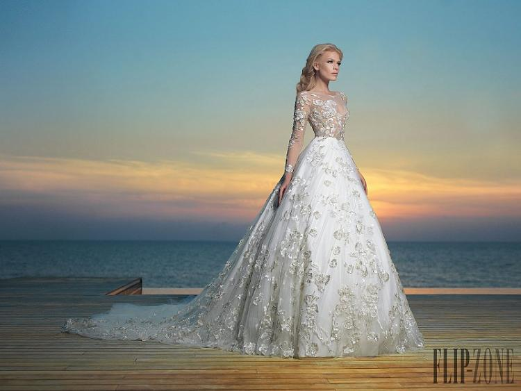 The Elegant Bridal Collection 2016 by Charbel Karam