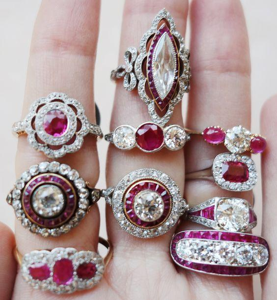 Timeless Ruby Engagement Rings You Will Love