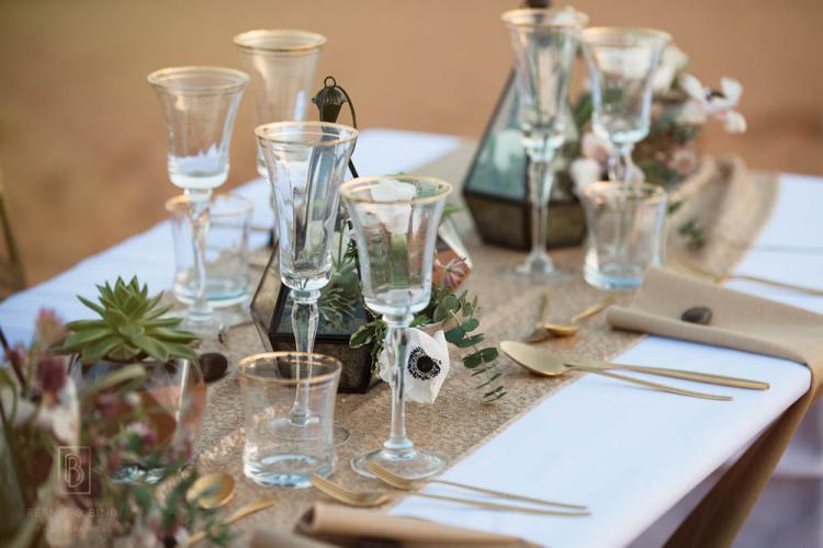 Breaking The Rules: A Desert Wedding Photo Shoot