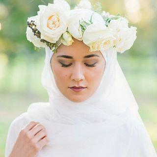 The Latest 2016 Hair Tips and Trends For Brides Who Wear Hijab