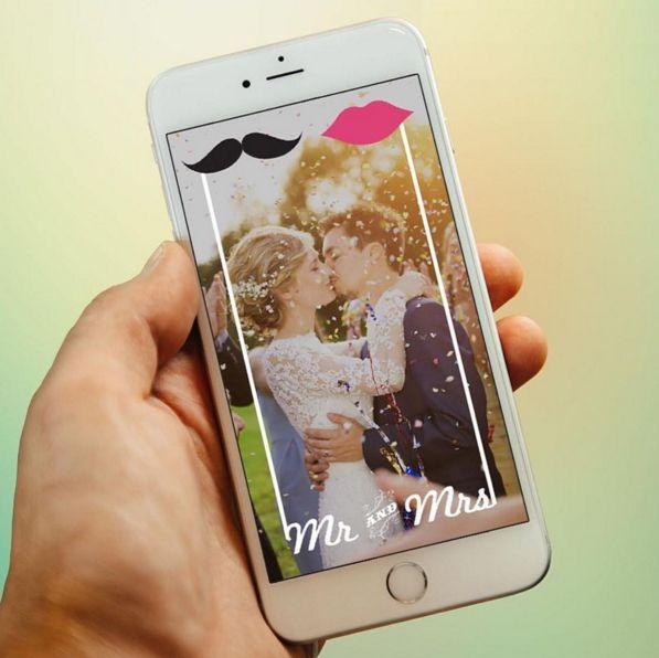 Have Fun and Use Snapchat at Your Wedding