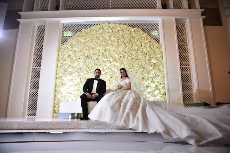 A Reign of Orchids Themed Wedding in The UAE