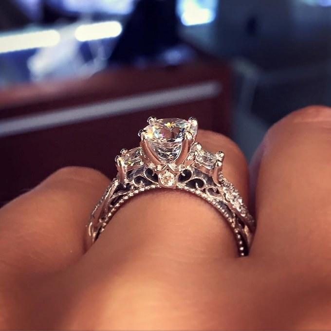 Get Your Wedding Ring Inspiration From The Most Popular Ring on Pinterest