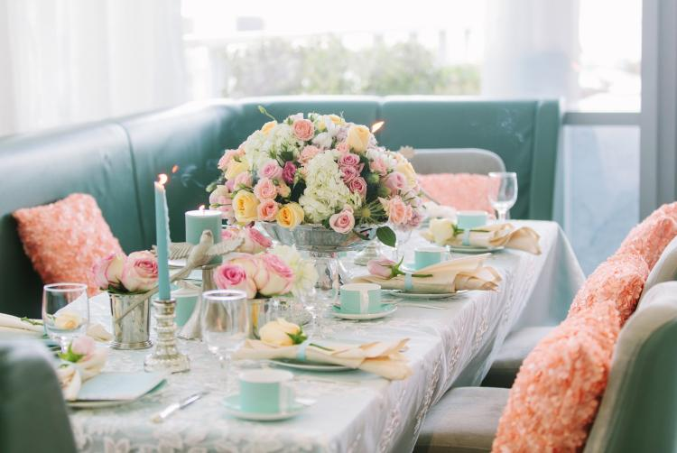 A Pretty Pastel Wedding Theme Photo Shoot by The Day