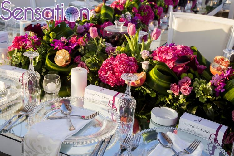 An Exotic Sunset Fruit Wedding by Sensation Events