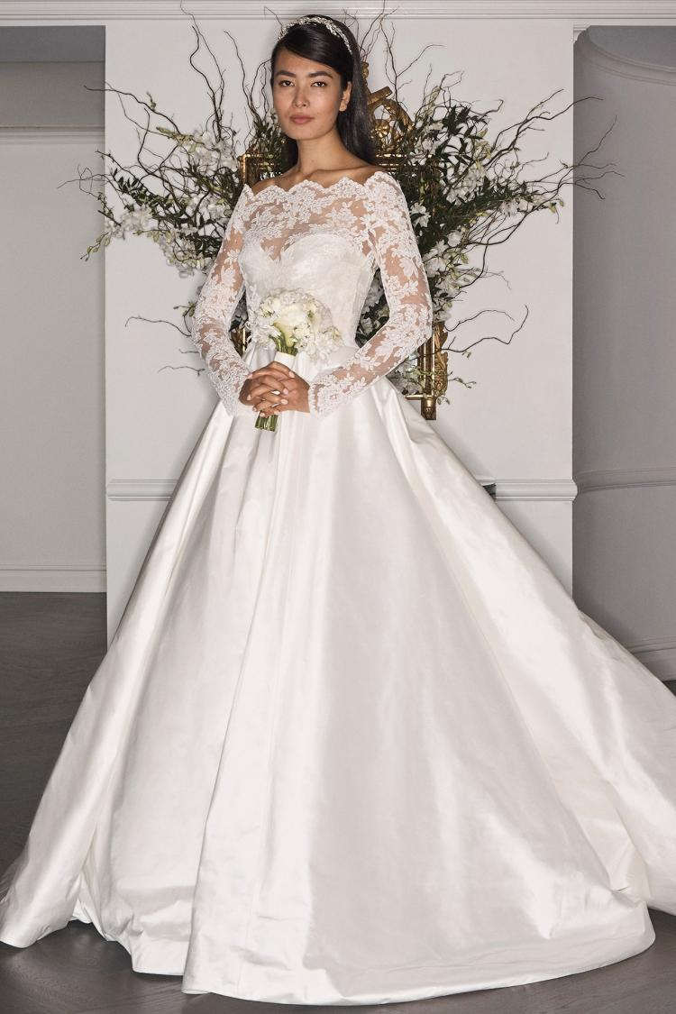 Romona Keveza Fall 2017 Bridal Collection at New York International Bridal Week