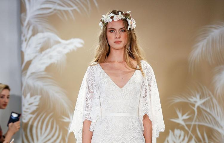 Bridal Fashion Trend: Flared Sleeves