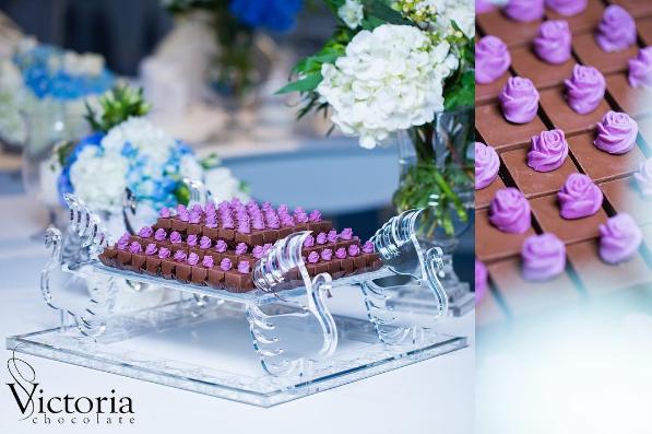 Beautiful Chocolates For Your Wedding by Victoria Chocolate Saudi Arabia