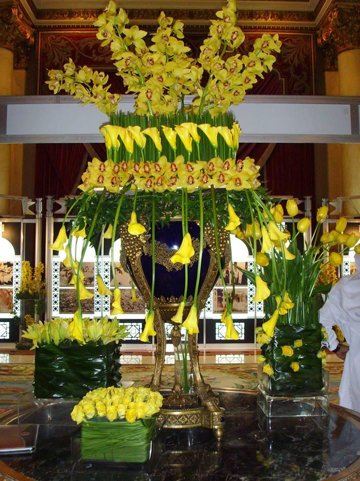 Top 6 Wedding Florists in Jeddah