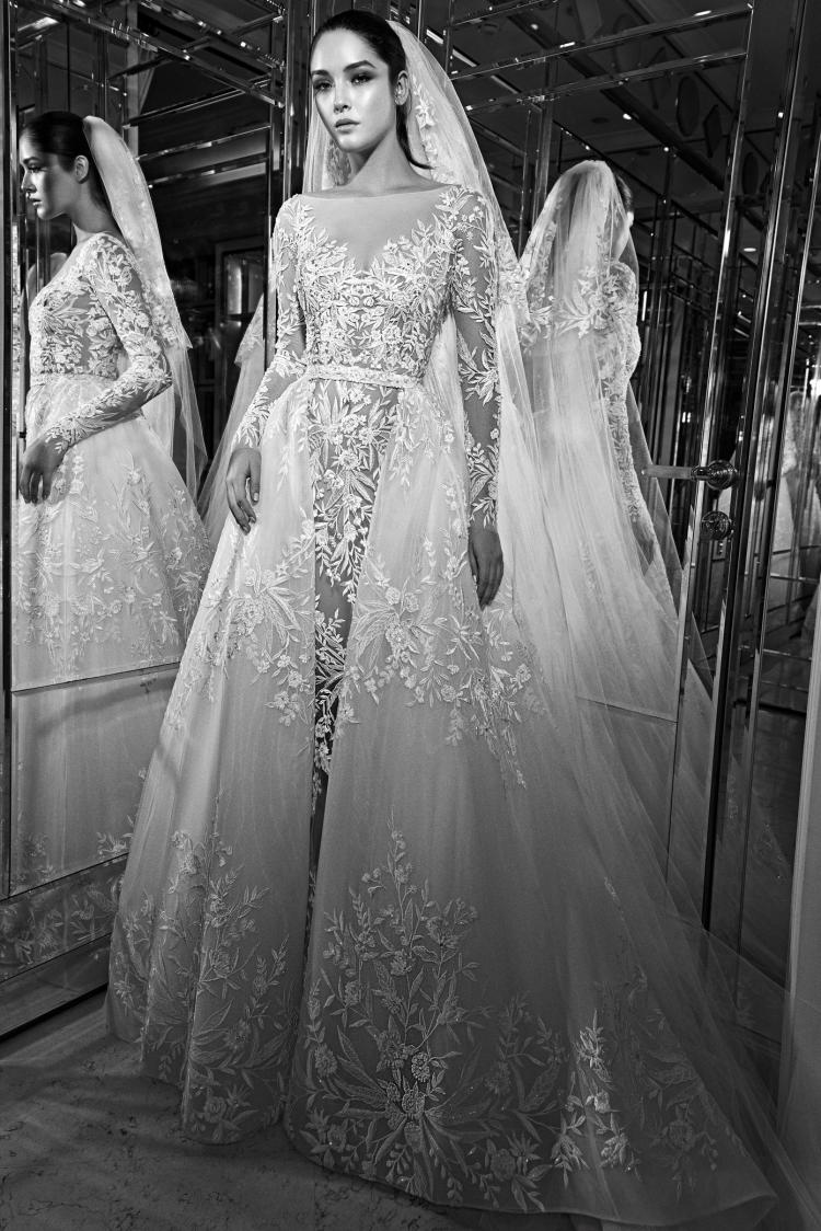 مجموعة فساتين زفاف زهير مراد لخريف 2017