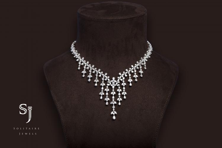 3 Eternal Diamond Pieces By SJ Solitaire Jewels