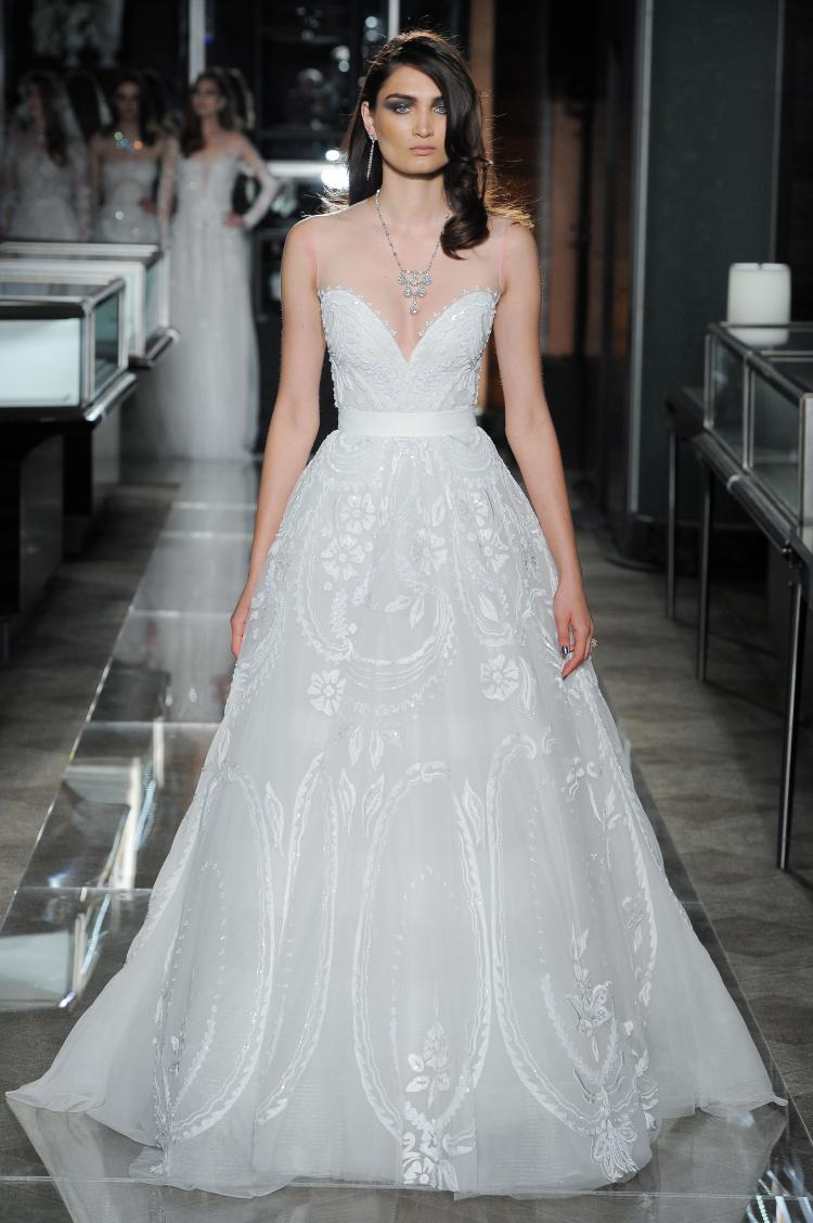 Reem Acra's 2018 Spring Bridal Collection Unveiled