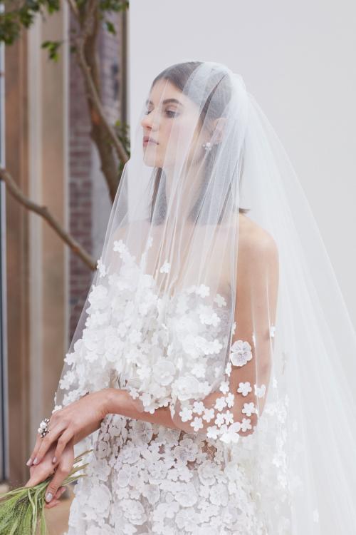 The Stunning Bridal Collection by Oscar de la Renta for Spring 2018