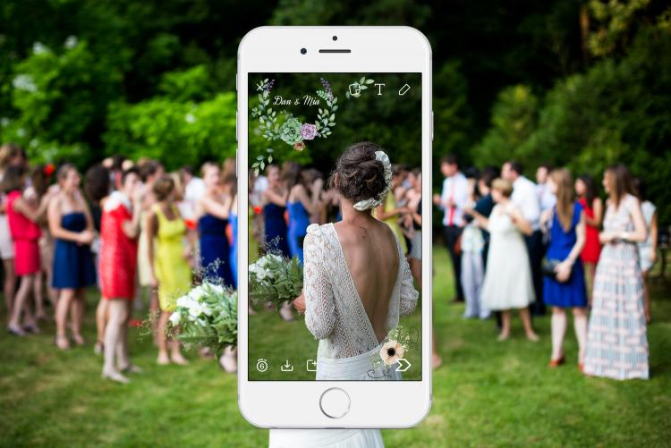 How To Design Your Own Wedding Filter on Snapchat