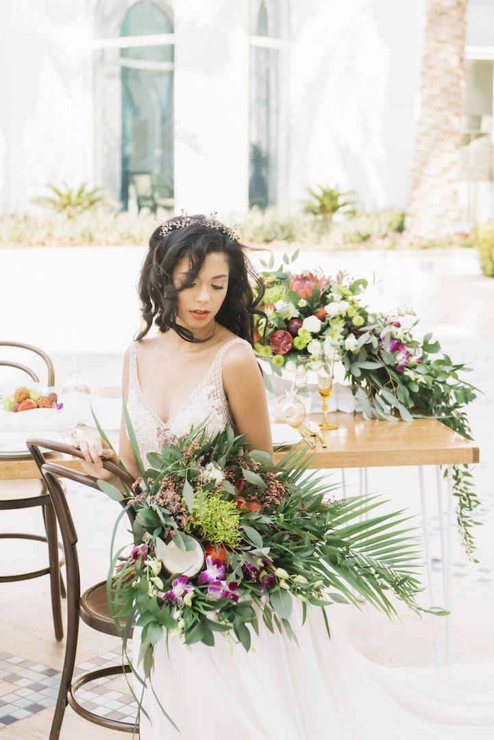 """Love is Paradise"" Wedding Photo Shoot"