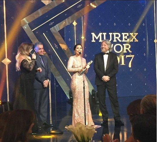 Our Favorite Celebrity Looks From the Murex D'or 2017