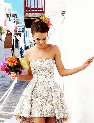 The Perfect Wedding Dress for The Petite Bride