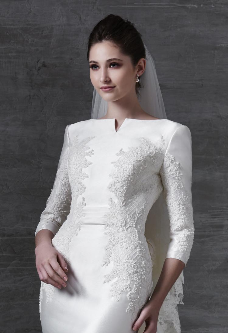 أحدث مجموعات فساتين الزفاف من تصميم بريان تشن