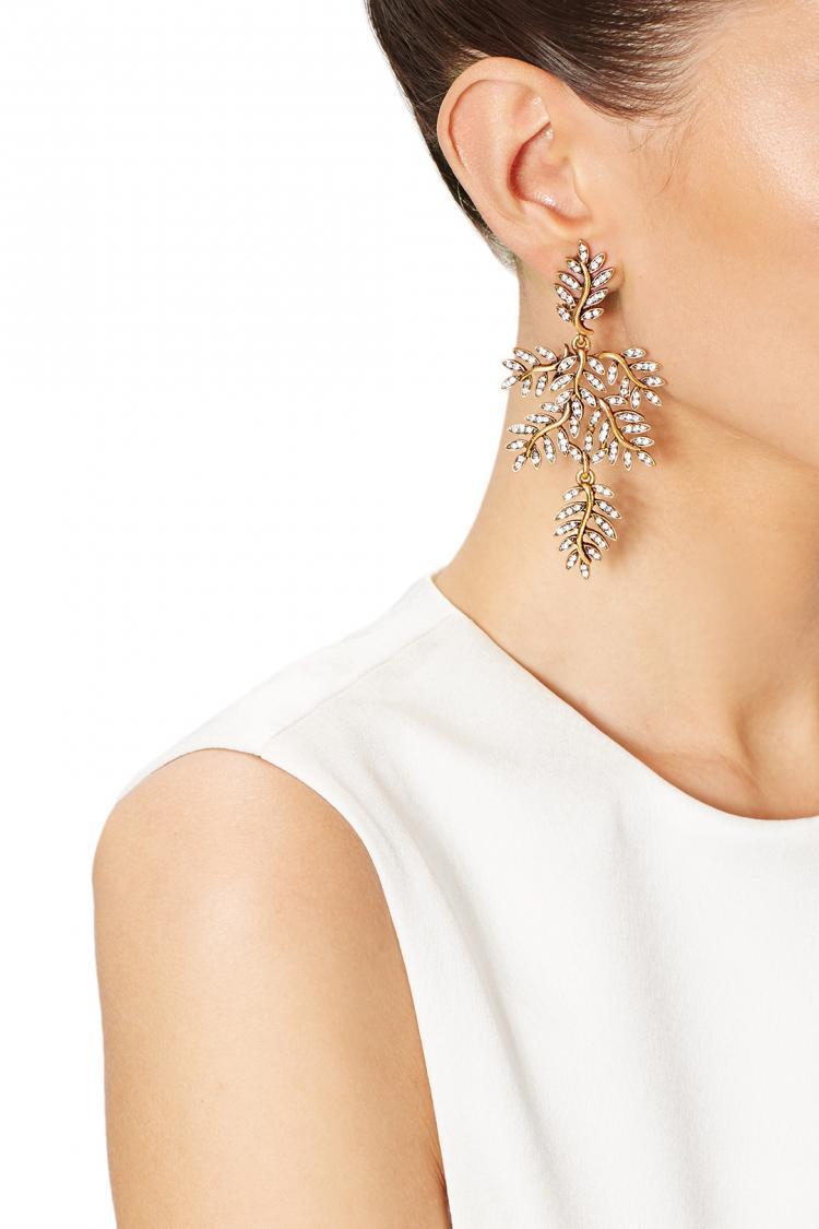 Unique Earrings to Complete Your Bridal Look from Oscar de la Renta