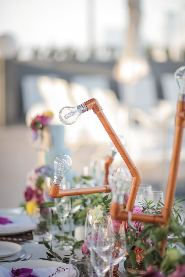 An Industrial Wedding Theme Photo Shoot in Dubai