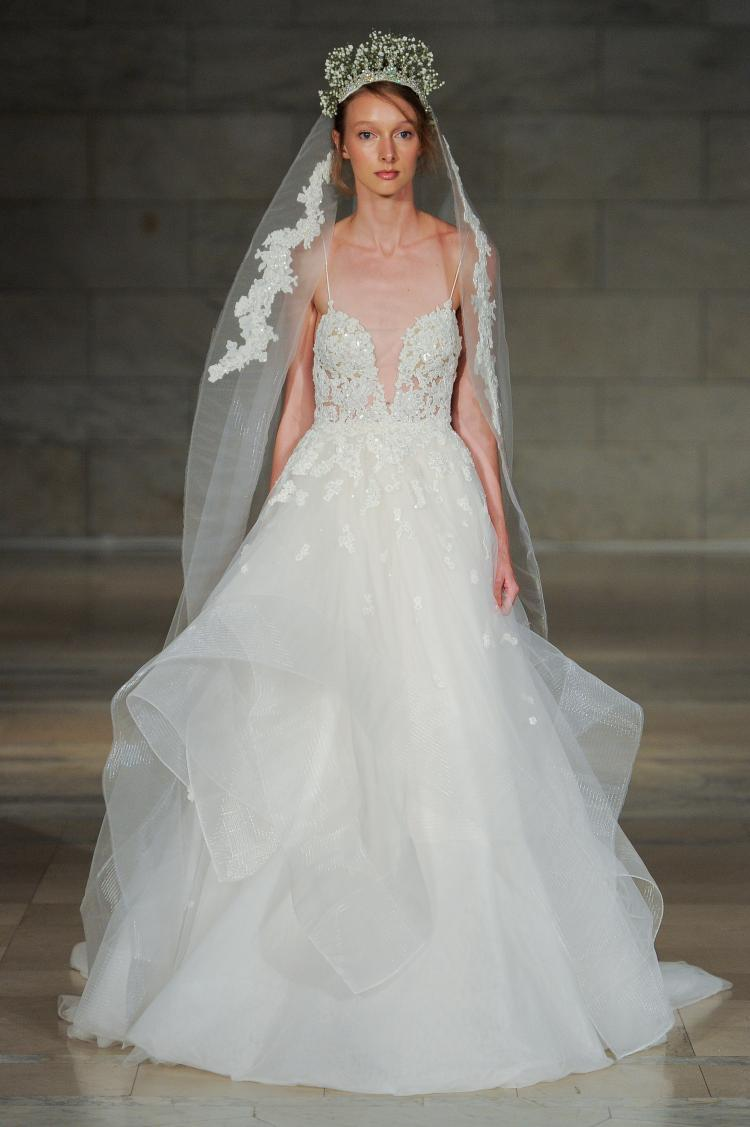 The Reem Acra Fall 2018 Bridal Collection