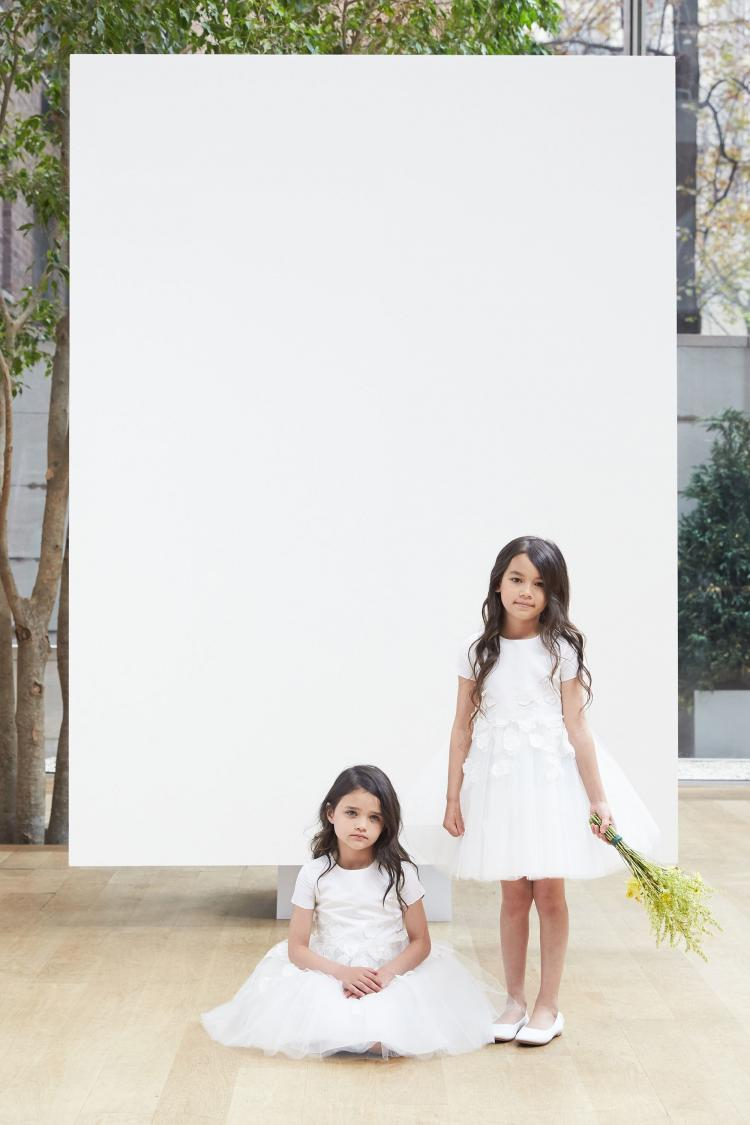 Adorable Flower Girl Dresses For 2018 by Oscar de la Renta