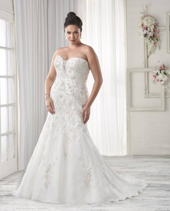 7 Strapless Wedding Dresses We Love For The Curvy Bride Arabia