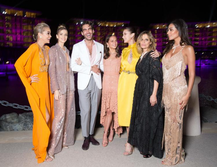 Your Wedding Fashion Inspiration From The Celebrities at The Bulgari Resort Dubai Launch