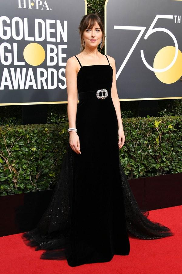 The Golden Globes 2018 Will Inspire Your Black Engagement Dress