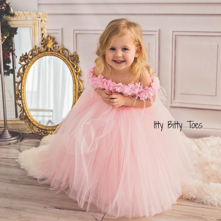 6 Magical Flower Girl Dresses from Itty Bitty Toes