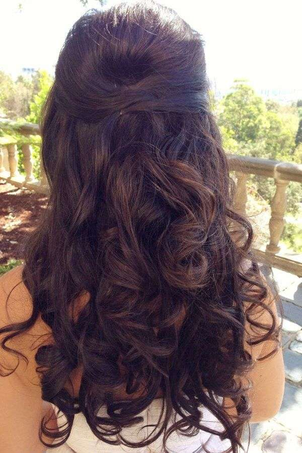 The Best Prom Long Hairstyles Pictures  August 2019